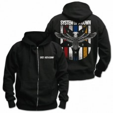 SYSTEM OF A DOWN-EAGLE COLORS II -S-BLACK (MRCH)