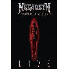MEGADETH-COUNTDOWN TO EXTINCTION LIVE (BLU-RAY)