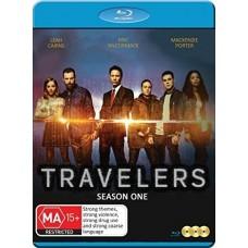 SÉRIES TV-TRAVELERS : SEASON 1 (3BLU-RAY)