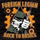FOREIGN LEGION-BACK TO BASICS (LP)